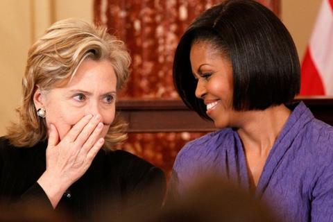 """Đệ nhất phu nhân Michelle Obama - """"tài sản"""" chính trị lớn nhất của bà Clinton?"""