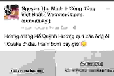 DHS Việt hoang mang trước cảnh báo bom nổ tại 40.000 điểm ở Osaka
