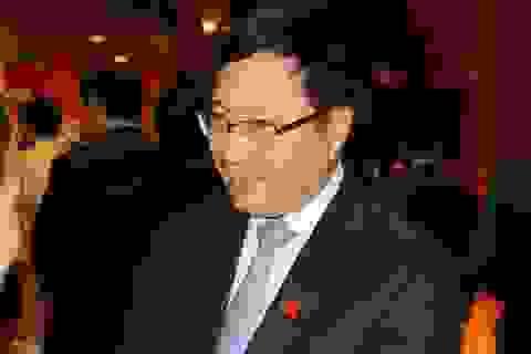 """Phó Thủ tướng Phạm Bình Minh: """"Không ngả về bên này, bên khác"""""""