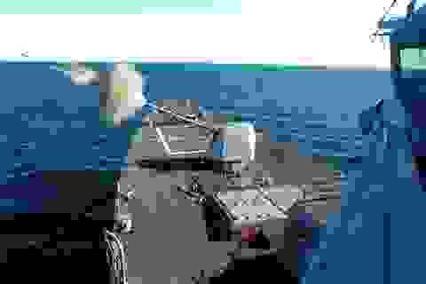 Pháo hạm Mk45 Mỹ bắn xa gấp 3 lần Nga