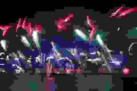 """Thế giới mở """"đại tiệc"""" pháo hoa mừng năm mới 2017"""