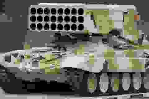 Pháo phản lực phóng loạt TOS-1 không có đối thủ trên thế giới