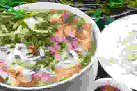 Phở Việt lọt TOP 100 món ăn ngon nhất thế giới
