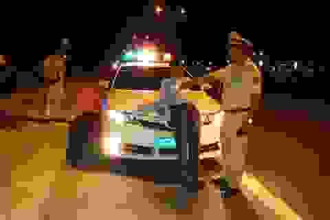 Lái xe say rượu, chửi bới, chống đối lực lượng CSGT