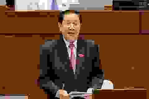 Bộ trưởng Nội vụ: Kỷ luật ông Vũ Huy Hoàng, khó vẫn phải làm!
