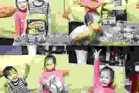Bánh ăn sáng phiên bản Kỷ Băng Hà gây sốt gia đình sao Việt