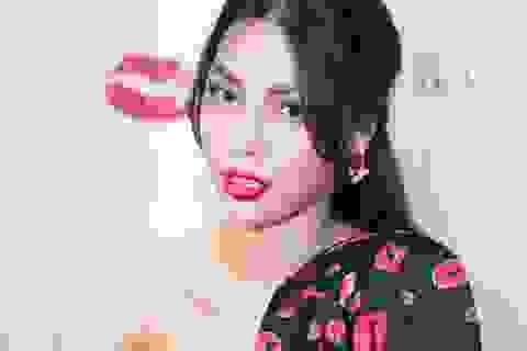 Siêu mẫu vàng Khả Trang nổi bật trong sự kiện ra mắt thương hiệu thời trang