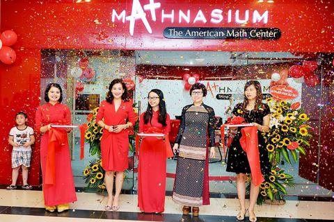 Hệ thống Trung tâm Toán tư duy Hoa Kỳ Mathnasium khai trương trung tâm thứ 30 tại Việt Nam
