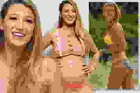 """Sau khi sinh con, người đẹp Blake Lively bị """"áp lực"""" với bikini"""