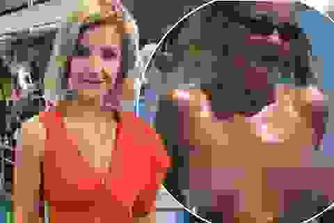 Nữ MC xinh đẹp bị lộ clip ngực trần