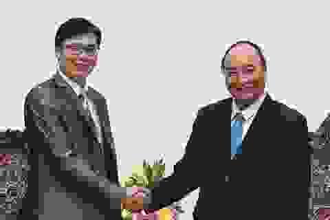 Thủ tướng tiếp GS Nguyễn Đức Khương, Chủ tịch Hội Khoa học và chuyên gia VN tại Pháp