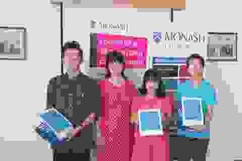 Rèn luyện kỹ năng và chinh phục giải thưởng cuộc thi Become a Monash Expert