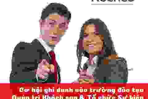 """Hội thảo du học Thụy Sĩ: """"Sẵn sàng thành công cùng ngành Quản trị Khách sạn & Tổ chức Sự kiện"""""""