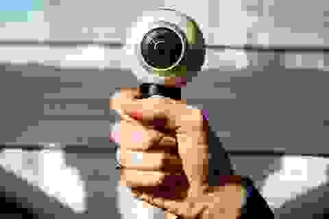 Trào lưu ảnh, video 360 độ: Gear 360 nhập cuộc ấn tượng