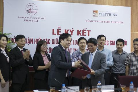 Khoa Luật - ĐHQG Hà Nội mở rộng hợp tác nâng cao chất lượng đào tạo
