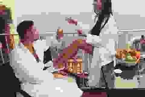 Vợ chồng hạnh phúc hơn khi cùng say