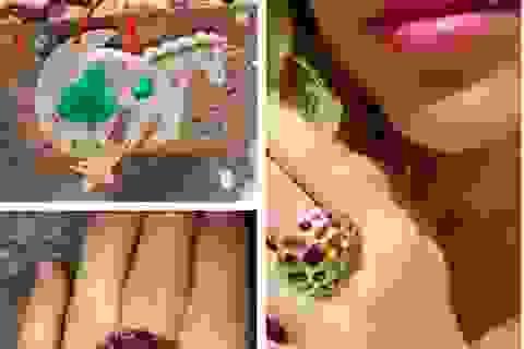 """Miley Cyrus mừng rơn vì được bạn trai tặng nhẫn """"khủng"""""""
