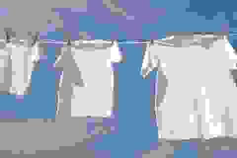 9 bí mật giữ áo sơ mi của ông xã trắng tinh