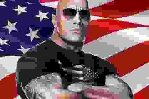 """Dwayne """"The Rock"""" Johnson cũng muốn tranh cử Tổng thống"""