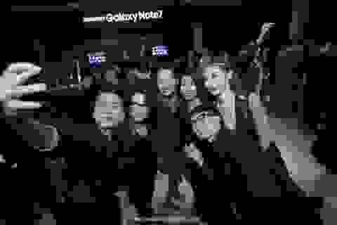 Vũ khí công nghệ Galaxy Note7 khiến sao Việt mê đắm