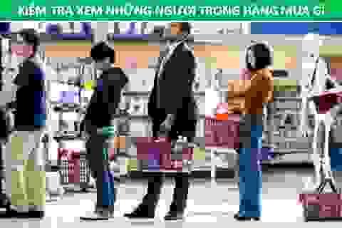Bí quyết xếp hàng khi đi siêu thị để nhanh đến lượt nhất