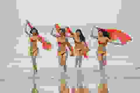 Đội Hà Hồ chiến thắng, An Nguy & Mai Ngô rơi vào vòng nguy hiểm của thử thách Bikini Vietjet