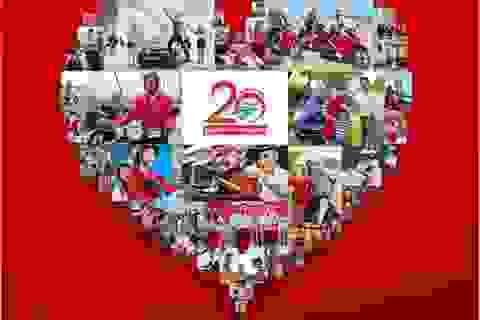 Tri ân khách hàng nhân dịp kỷ niệm 20 năm thành lập Honda Việt Nam