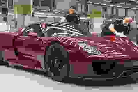 Porsche triệu hồi xe 918 Spyder