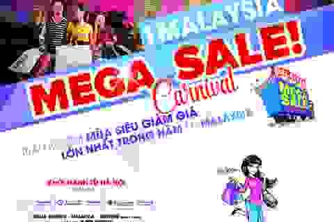 Mua sắm thả ga mùa siêu giảm giá hè 2016 tại Malaysia