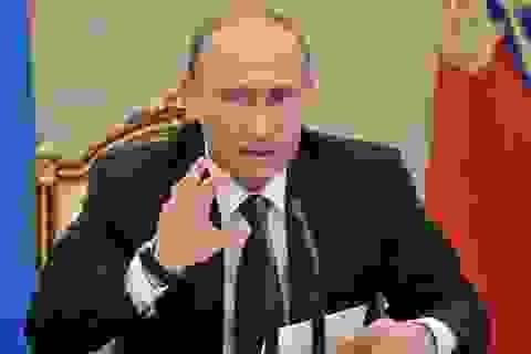Ông Putin sa thải hàng loạt quan chức cấp cao