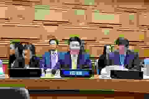 """Phó Thủ tướng Phạm Bình Minh nêu thông điệp """"hòa bình, hợp tác và phát triển"""""""
