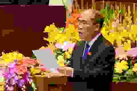 Sáng nay trình miễn nhiệm Chủ tịch Quốc hội Nguyễn Sinh Hùng