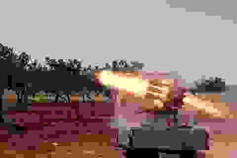 Đạn rocket vẫn bay vào thủ đô Syria, bất chấp lệnh ngừng bắn