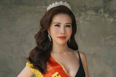 Hoa khôi Lan Phương hát mở màn đêm chung kết Duyên dáng Doanh nhân Việt 2016