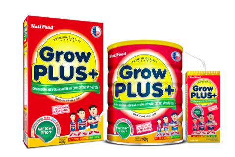 GrowPLUS+ - Dinh dưỡng hiệu quả cho trẻ suy dinh dưỡng thấp còi bán chạy số 01 Việt Nam