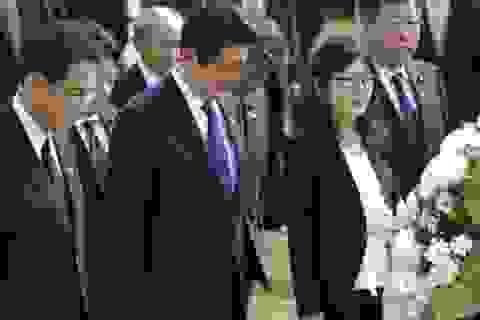 Thủ tướng Nhật Bản Abe cùng Tổng thống Mỹ Obama thăm Trân Châu Cảng