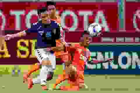 Hà Nội T&T đánh bại SHB Đà Nẵng trên sân Hàng Đẫy