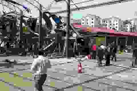 Trực thăng quân sự Malaysia lao vào trường học, nhiều người bị thương