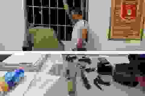 Nghi án nam thanh niên trộm xe rút dao chém người truy đuổi