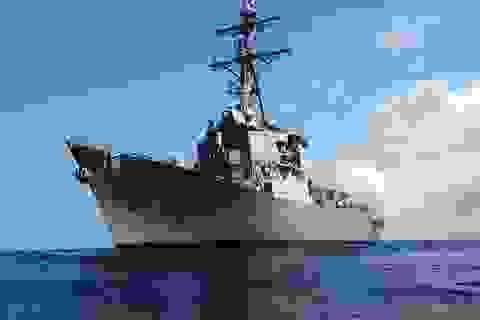 Tàu khu trục tên lửa dẫn đường Porter của Mỹ đến Biển Đen tập trận