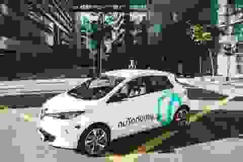 Singapore đã trở thành quốc gia đầu tiên có taxi tự lái