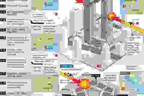 [Infographics] Toàn cảnh vụ khủng bố ngày 11/9/2001 ở Mỹ