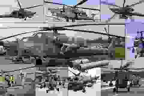 Thợ săn đêm Mi-28NM lắp mắt thần, đánh chặn được tên lửa