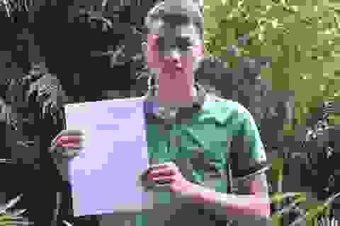 Công an tỉnh Quảng Ngãi xin Bộ Công an chiếu cố cho thí sinh người H're đi học trường Cảnh sát