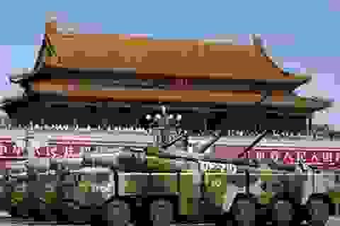 Trung Quốc công bố ngân sách quốc phòng: Bước lùi có tính toán?