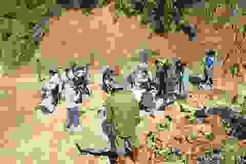 Phát hiện thêm 4 người chết và mất tích ở mỏ vàng Mà Sa Phìn