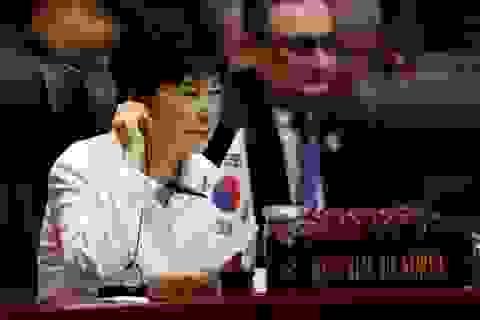 Di sản chính trị của Tổng thống Hàn Quốc bị lung lay vì bê bối