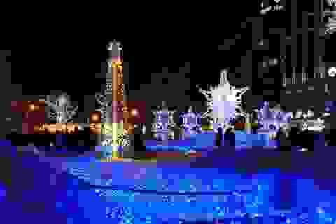 """Huyền ảo """"băng đăng thiên tạo"""" Sapporo"""