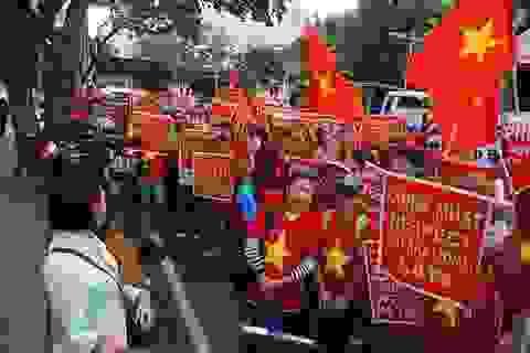 Sinh viên Việt Nam và quốc tế tại Philippines phản đối Trung Quốc quân sự hoá Biển Đông