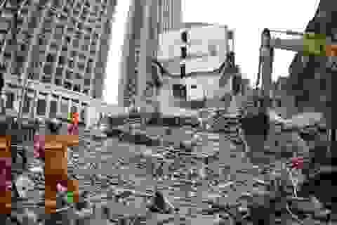 Trung Quốc: Sập nhà cao tầng hàng loạt, ít nhất 22 người chết